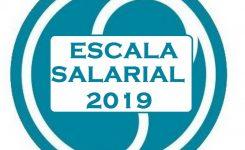 NUEVA ESCALA SALARIAL 2019